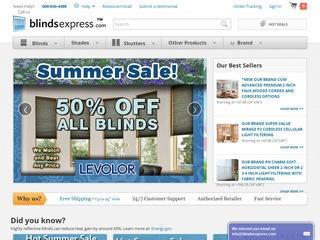 Go to blindsexpress.com website.