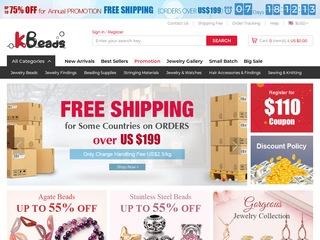 Go to kbeads.com website.