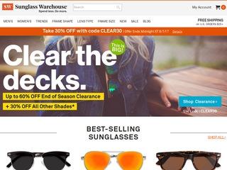 Go to sunglasswarehouse.com website.