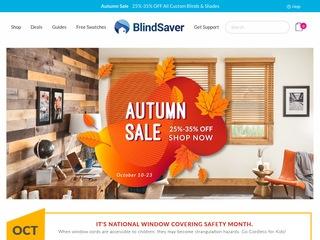 Go to blindsaver.com website.