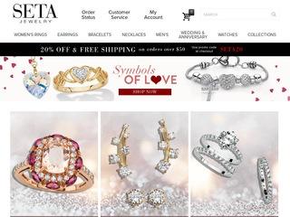 Go to setajewelry.com website.