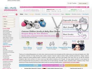 Go to blingjewelry.com website.