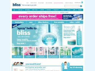 Go to blissworld.com website.