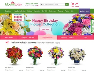 Go to Blooms Today website.