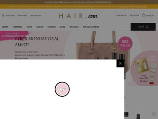Go to hair.com website.