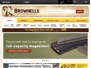 Go to brownells.com website.