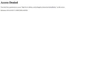 This is what the thebay.com website looks like.