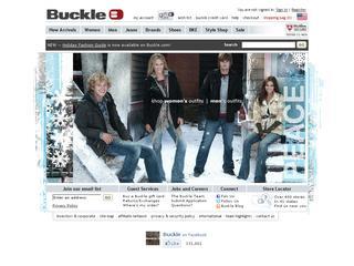 Go to buckle.com website.