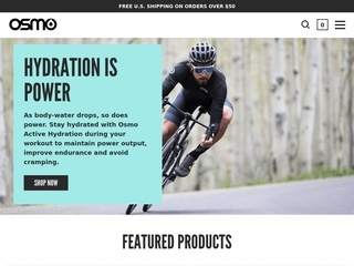 Go to Osmo Nutrition website.