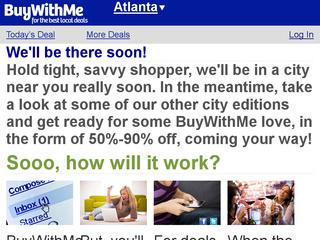 Go to buywithme.com website.