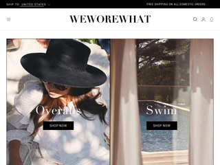 Go to We Wore What website.