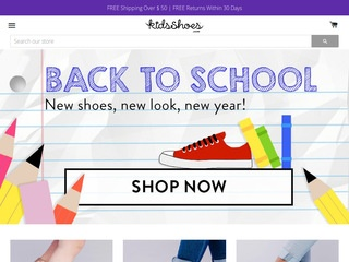 Go to kidsshoes.com website.