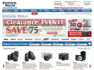 Go to cameraworld.com website.