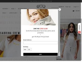 Go to peaceloveworld.com website.