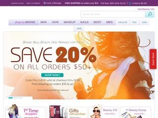 Go to BeautyStoreDepot.com website.