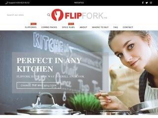 Go to FlipFork website.