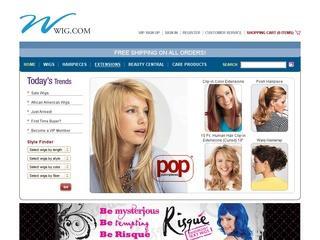 Go to wig.com website.