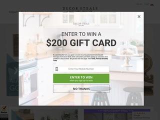 Go to decorsteals.com website.