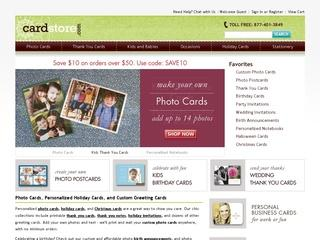 Go to cardstore.com website.