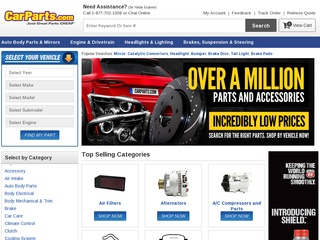 Go to carparts.com website.