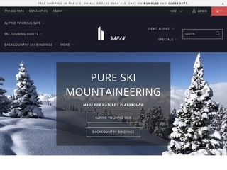 Go to Hagan Ski Mountaineering website.