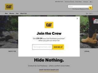 Go to Cat Footwear website.