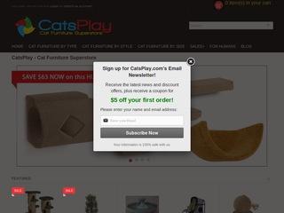 Go to catsplay.com website.