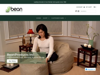 Go to Bean Products website.