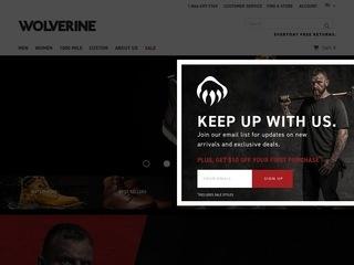Go to wolverine.com website.