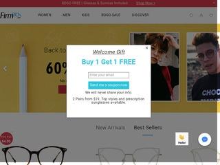 Go to firmoo.com website.