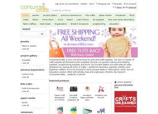 Go to consumercrafts.com website.