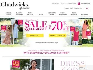 Go to chadwicks.com website.