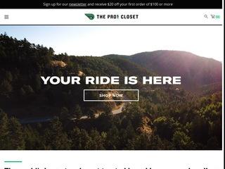 Go to The Pro's Closet website.