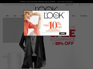 Go to The Look website.