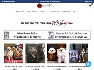 Go to Iconic Paw website.