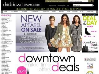 Go to chickdowntown.com website.
