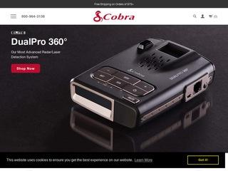 Go to Cobra Electronics website.