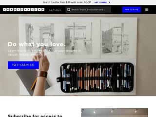 Go to CreativeLive website.