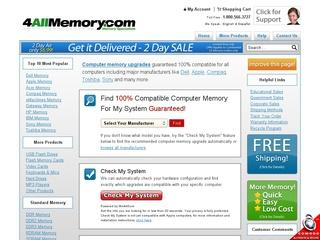 Go to 4allmemory.com website.