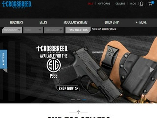 Go to crossbreedholsters.com website.