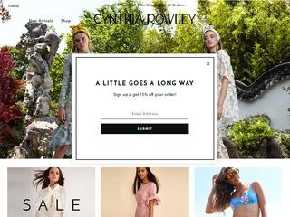 Go to cynthiarowley.com website.