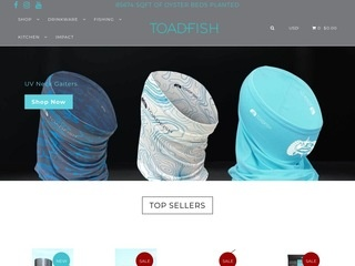 Go to Toadfish Outfitters website.