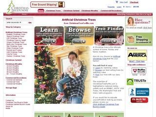 Go to christmastreeforme.com website.