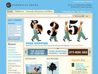 Go to chroniclebooks.com website.