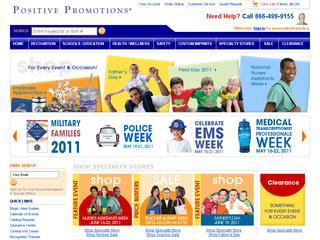 Go to positivepromotions.com website.