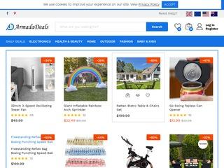 Go to armadadeals.com website.