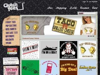 Go to clutchtees.com website.