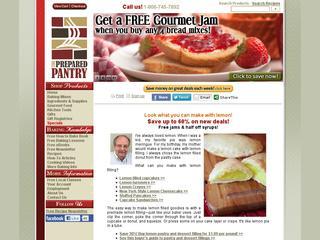 Go to preparedpantry.com website.