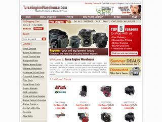 This is what the tewarehouse.com website looks like.