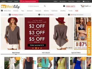 Go to modlily.com website.